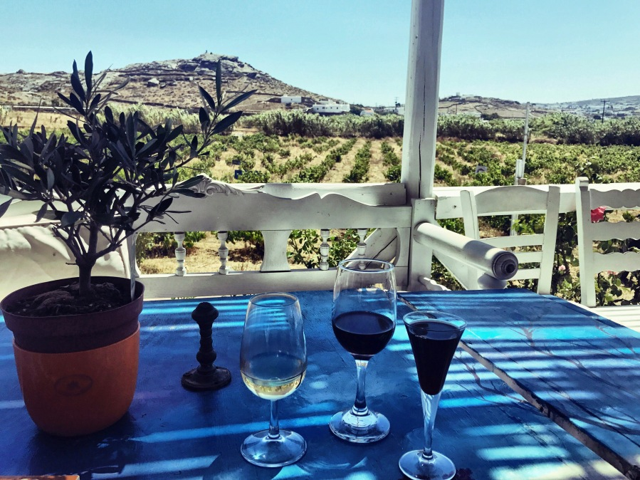 travel: Mykonian wine tasting